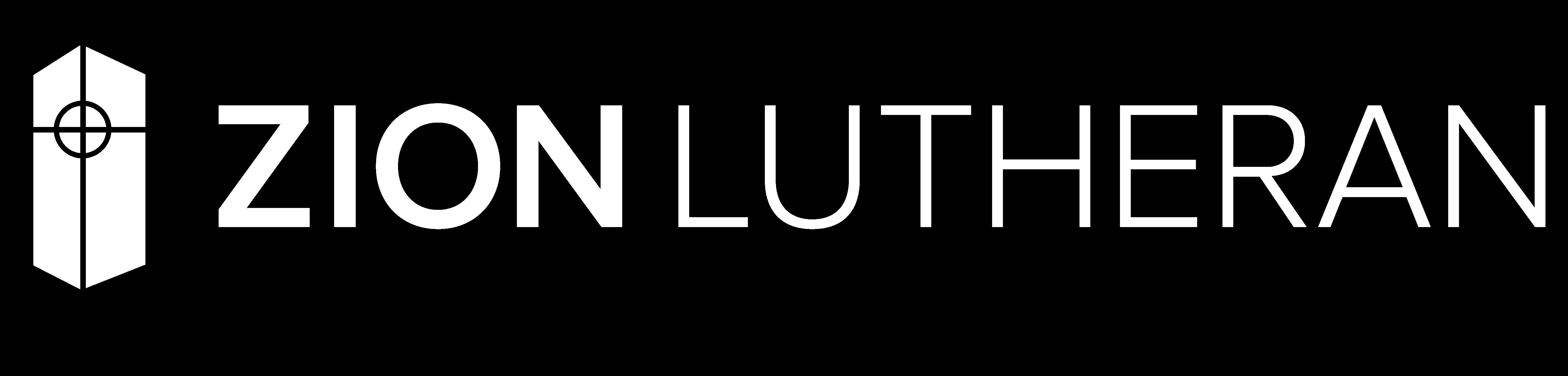 Zion Logo (white horizontal)